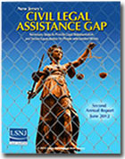 New Jersey's Civil Legal Assistance Gap 2012 Report
